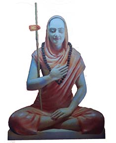http://commons.wikimedia.org/wiki/File%3AShri_Gaudapadacharya_Statue.jpg