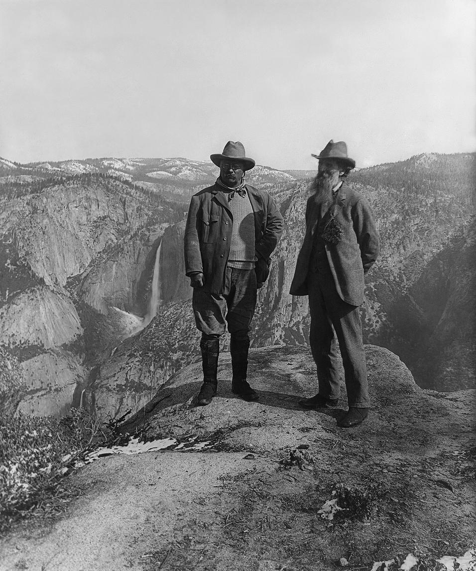 Roosevelt & Muir, by Underwood & Underwood
