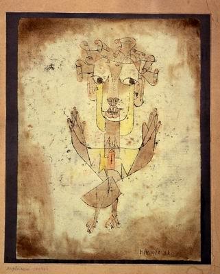 Klee angelus novus, 1920