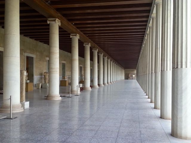 Stoa of Attalus in Athens